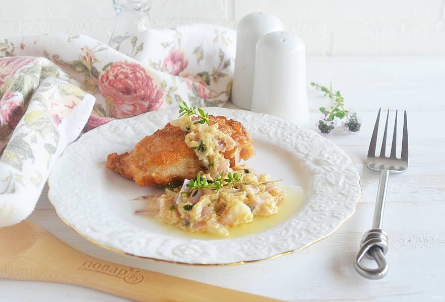 Курица в сливочном соусе Piccata