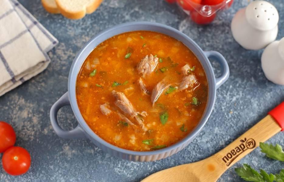 Аромат супа быстро соберёт всех домочадцев за столом! Приятного аппетита!