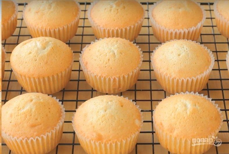 Ванильные кексы (базовый рецепт)