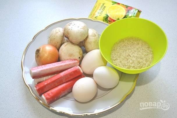 1. Вот такой набор ингредиентов нам нужно подготовить.