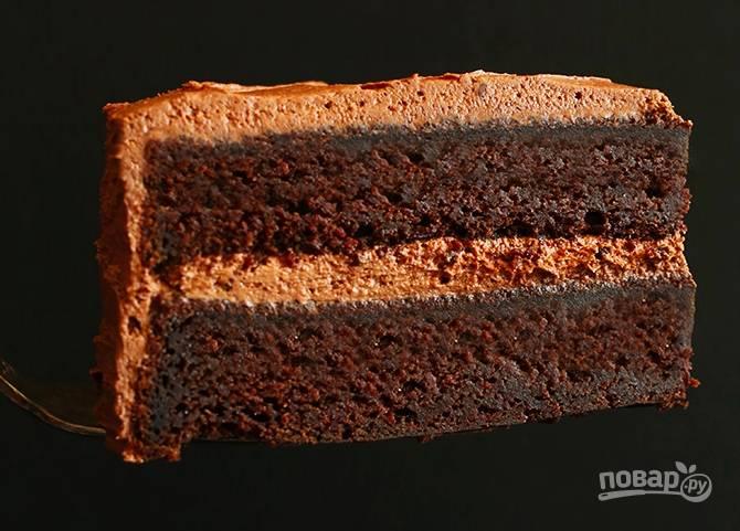 Вегетарианский шоколадный торт