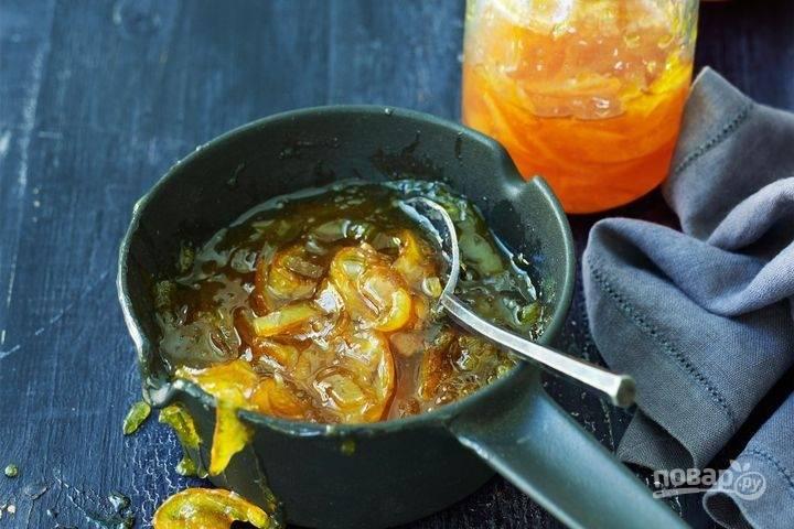 Домашний апельсиновый мармелад