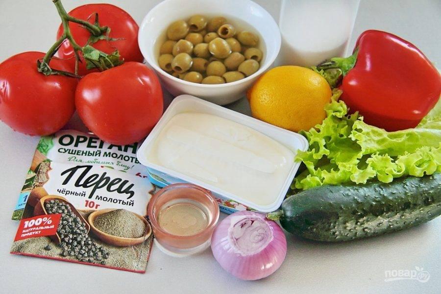 Подготовьте все необходимые продукты и приступим!