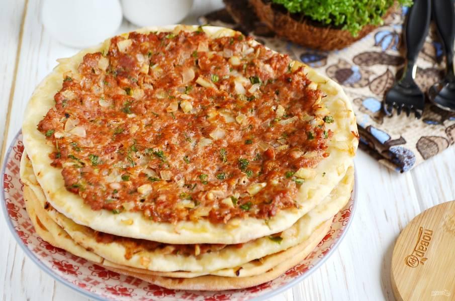 Ламаджо армянский рецепт с фото пошагово