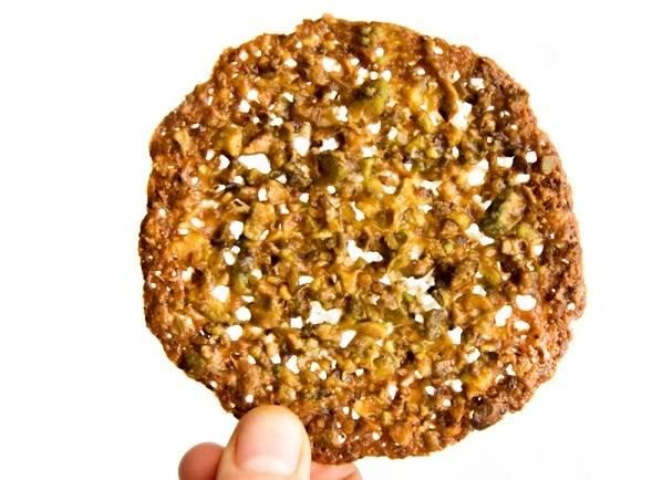 4. Вот таким получилось флорентийское ореховое печенье.