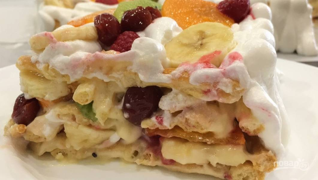 Торт тропиканка рецепт с фото пошагово