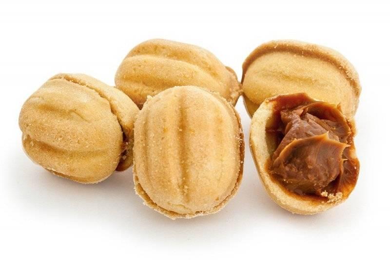 """Печенье """"Орешки"""" в формочках"""
