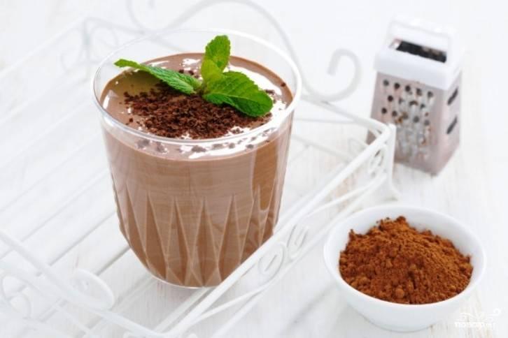 Шоколадный кефир