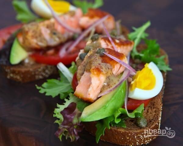 3.Подавайте бутерброды сразу после приготовления, чтобы они не засохли.