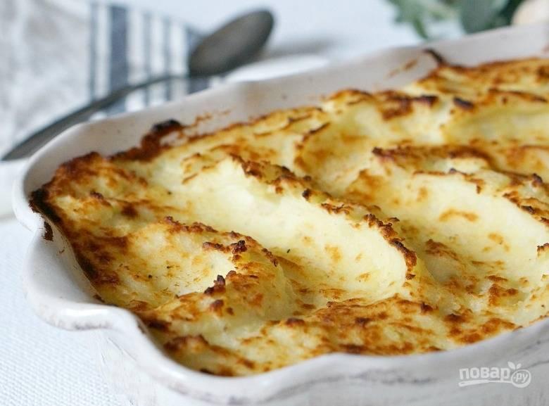 6. Вот такое запеченное с чесноком картофельное пюре. Угощайтесь!