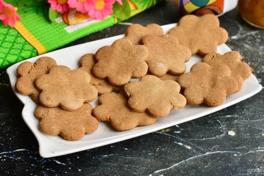 Имбирное печенье без глютена