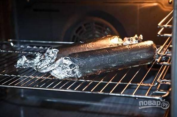 9. Отправьте в разогретую духовку и запекайте при температуре 200 градусов около получаса.