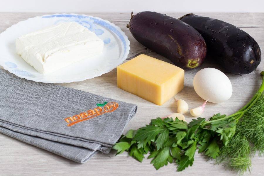 Подготовьте все необходимые ингредиенты. Яйцо сварите заранее.