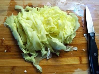 6. Оставшуюся капусту порубите.