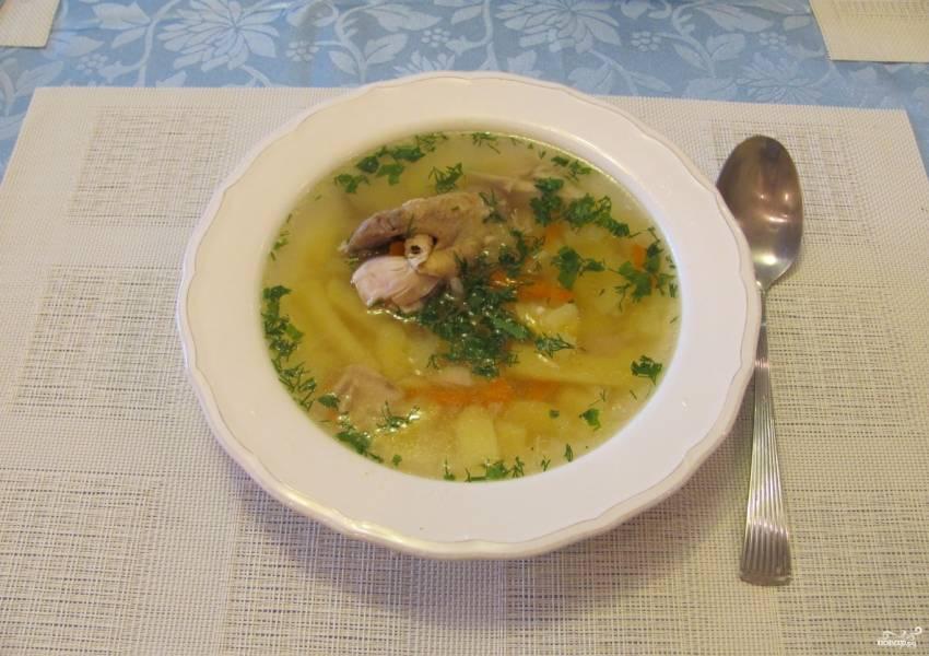 Суп за 5 минут