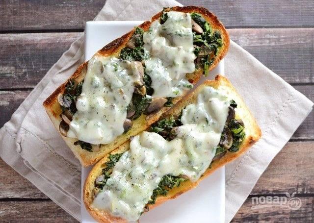 6.Подавайте бутерброды горячими или уже остывшими.