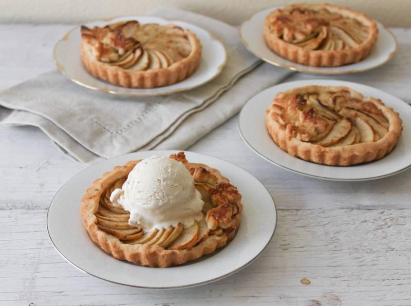 Яблочные тарталетки