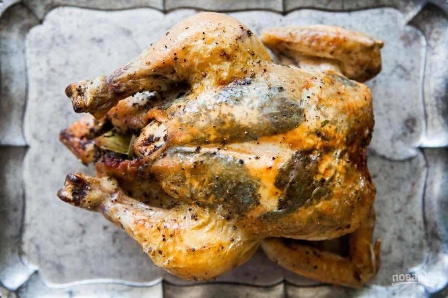 5.Подавайте мясо спустя 5 минут после запекания.
