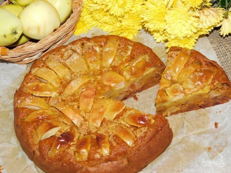 Сочный тыквенный пирог