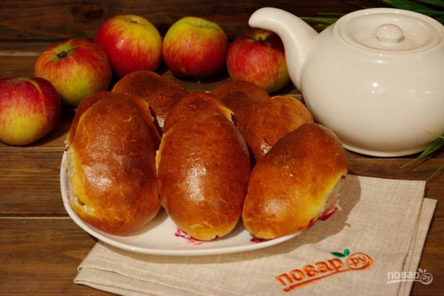 Нежные, вкусные и ароматные пирожки будут готовы к вашему столу.