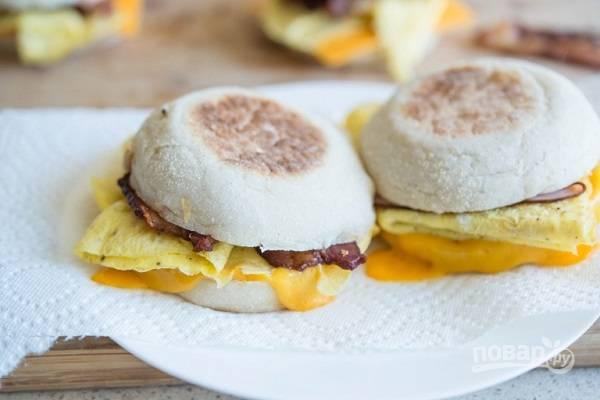 Сэндвичи на завтрак