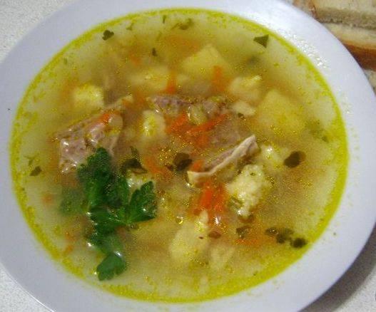 10. Суп получается насыщенный и очень вкусный!