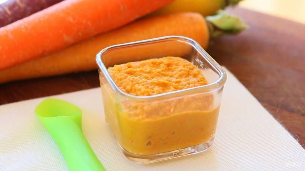 4. Измельчите ингредиенты в пюре. Хумус готов! Приятной дегустации!