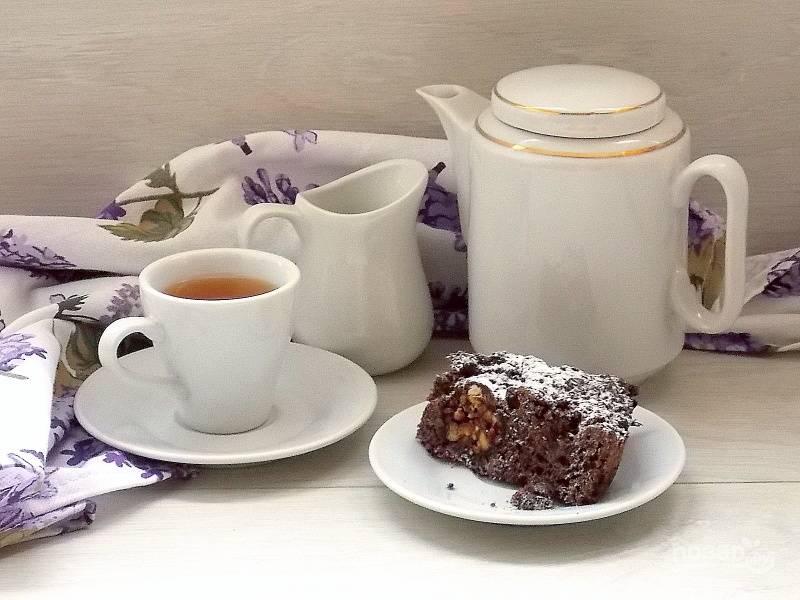 Посыпьте сахарной пудрой и подавайте к столу. Приятного аппетита!