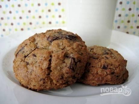 Простое печенье без яиц