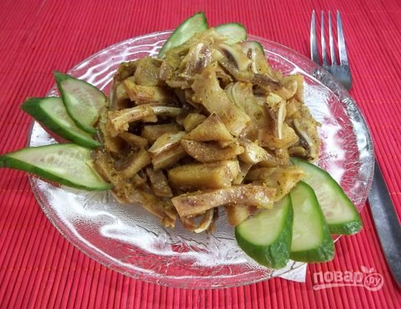 6.Подавайте ушки с овощами, с гарниром или без ничего. Приятного аппетита!