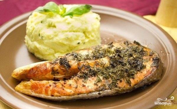 Бифштекс рыбный