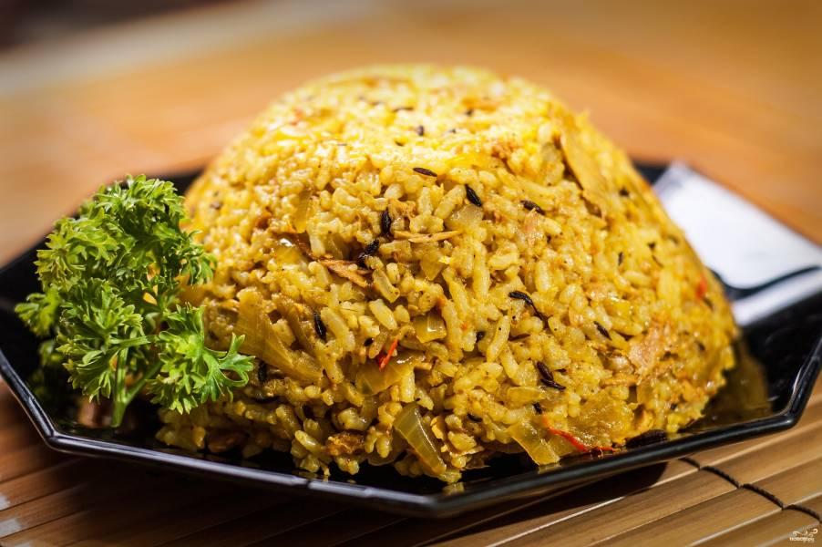 Рис с тунцом