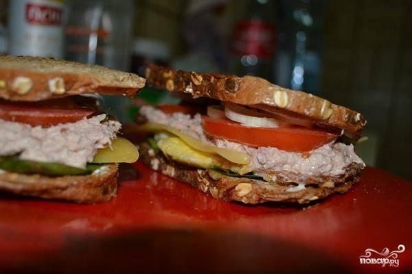 Сэндвич за 10 минут