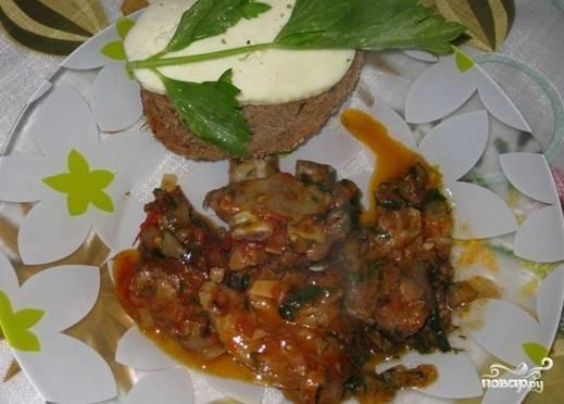 Баранина в томатном соусе