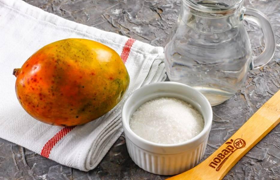 Подготовьте указанные ингредиенты. Сахар можете удалить из списка ингредиентов, если не любите сладкие напитки.