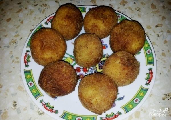 Картофельные кругляшки