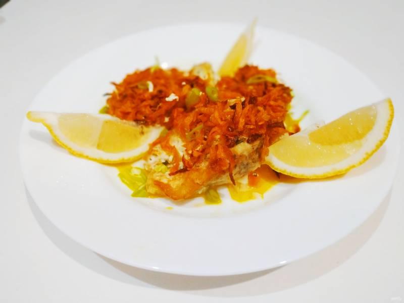 Щука с морковью
