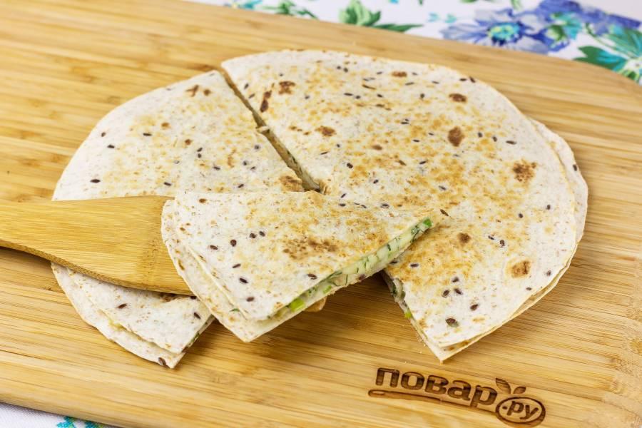 Тортилья с сыром