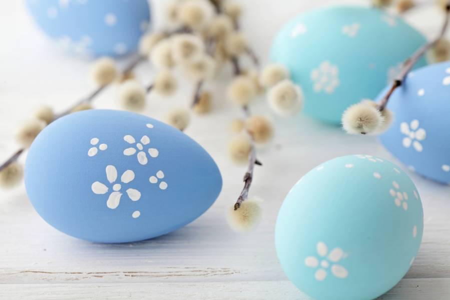 3 способа покрасить яйца к Пасхе