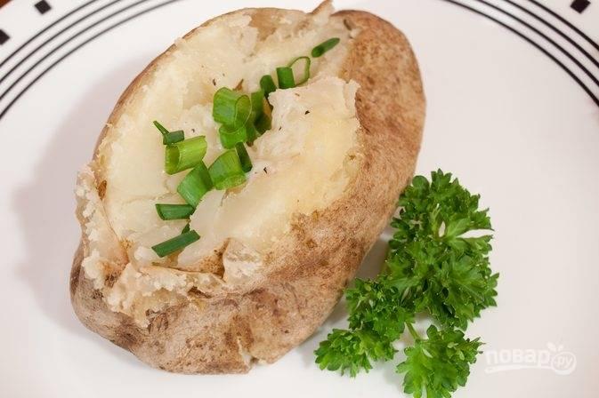 Картошка в фольге (в духовке)