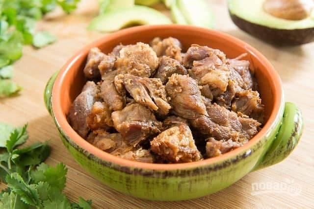 Карнитас из свинины