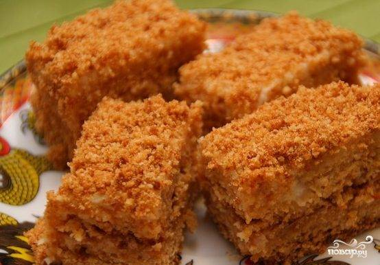 Медовый торт рецепт классический