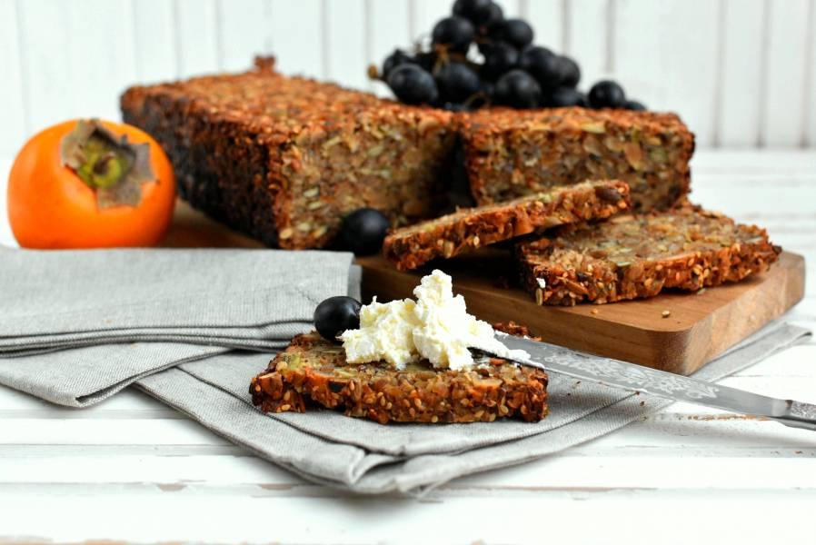 Зерновой хлеб без муки