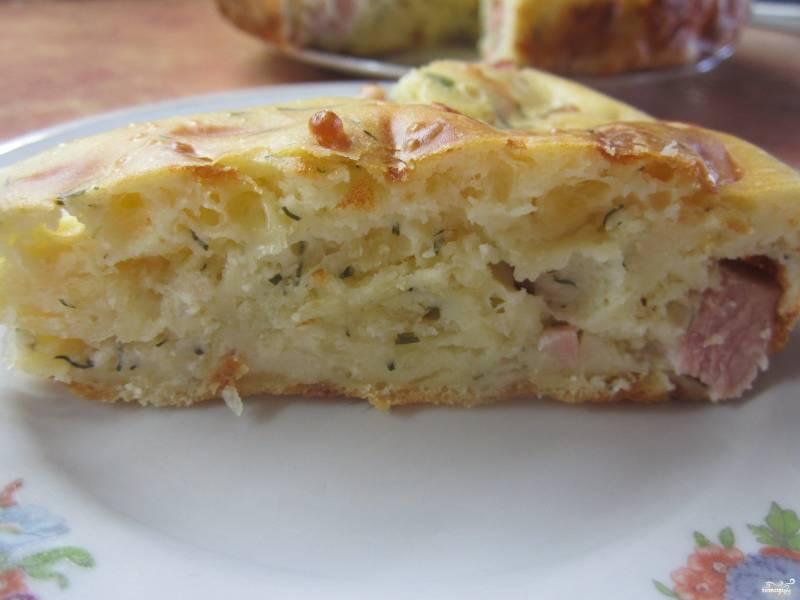 Сырный пирог на скорую руку