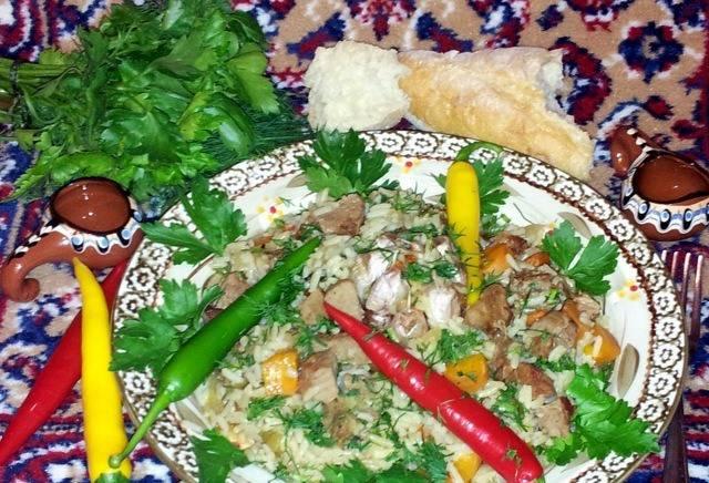5. Проверяем на готовность риса, и можно подавать! Приятного аппетита!