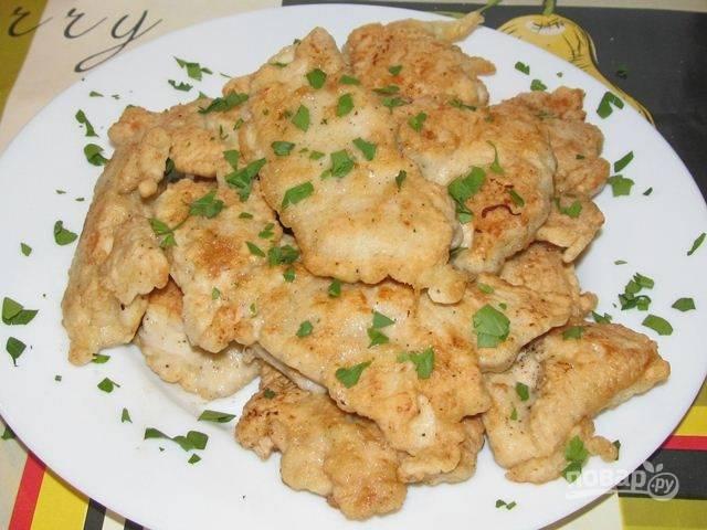 Кляр для курицы готов, приятного аппетита!