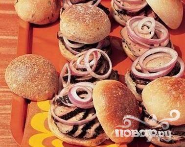 Сэндвичи с глазированной свининой