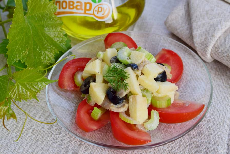 Сицилийский салат