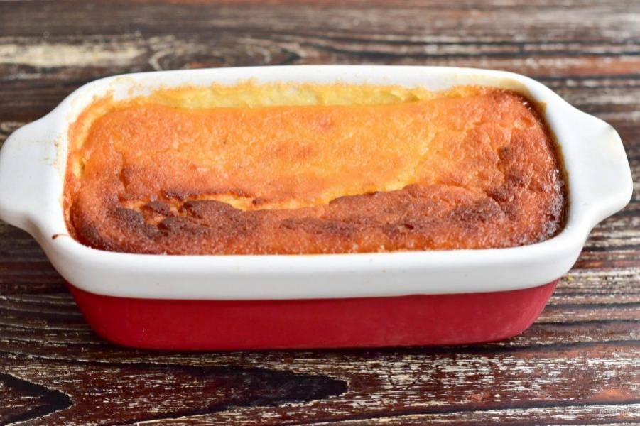 Отправьте террин в разогретую до 190 градусов духовку на 40-50 минут.