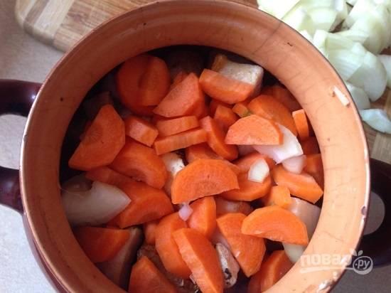 Теперь добавим морковь.